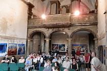 Výstava Dagmar Piorecké zahájila výtvarné léto v kapli