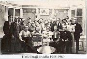 Pňovští hasiči v letech 1956 až 1960 hráli i divadlo.