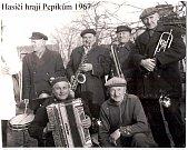 V roce 1967 hráli hasiči z Pňova Pepíkům.