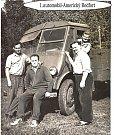 První hasičské auto.
