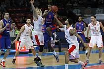 POKOŘÍ SLAVNÉHO SOUPEŘE? Basketbalisté Nymburka budou hrát třetí utkání play off VTB ligy s ruským CSKA Moskva na své palubovce. Hostující tým vede dva nula na zápasy
