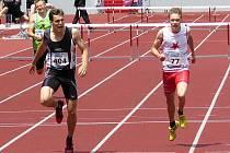 ŠAMPION. Nymburský sprinter Vít Müller (číslo 404) pro sebe vybojoval první individuální titul mistra republiky