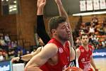 Basketbalisté Nymburka porazili v posledním domácím zápase Ligy mistrů španělskou  Fuenlabradu.