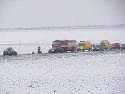 Za nehodu u Jiřic může asi namrzlá vozovka
