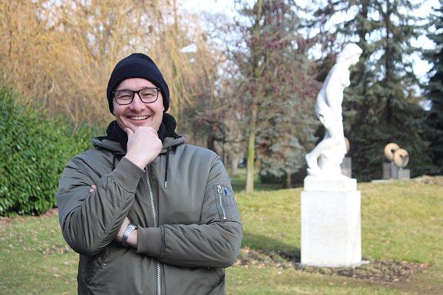 Výtvarník Lukáš Kladívko
