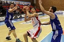 Z basketbalového utkání Mattoni NBL Nymburk - Ostrava (87:53)