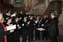 Koncert libereckého sboru v kapli sv. Jana Nepomuckého