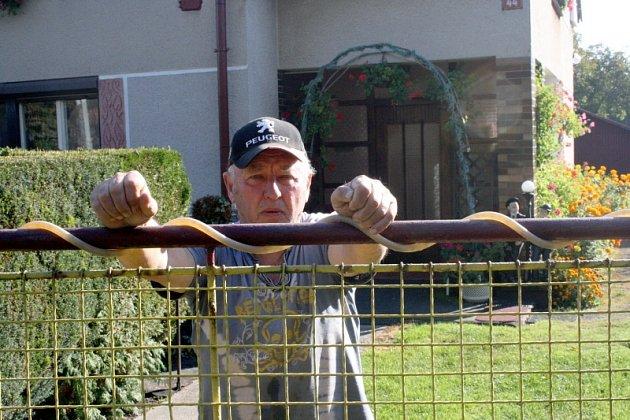 Soused Miloslav Lizner byl svědkem nálezu těla