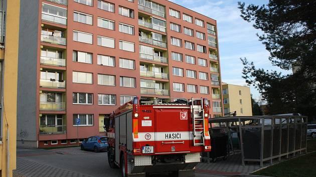 V paneláku v Jankovicích unikal plyn. Ilustrační foto.