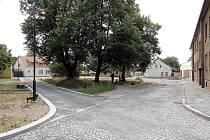 Oprava ulic Na Rejdišti a Na Příkopě se blíží ke konci.