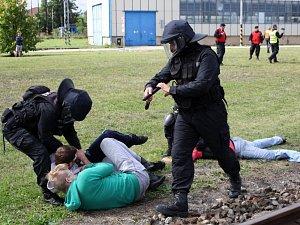 Mezinárodní policejní cvičení Railex 2017
