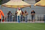 Z fotbalového utkání I.A třídy Union Čelákovice - Kosmonosy (3:3, PK 1:4)