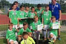 Mladší žáci Sadské vyhráli Kába cup