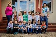 Třída Motýlci a paní učitelky Hana Svobodová a Naděžda Šmoldasová