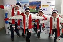 Jiří Raul z Křečkova (druhý zleva) reprezentoval Českou republiku na paralympiádě