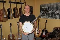 Pavel Janišš je celý život spjat se hrou na banjo.