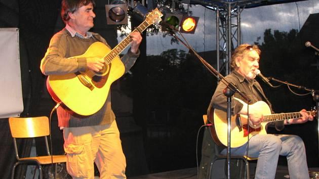 Wabi Daněk zahrál na nymburském festivalu