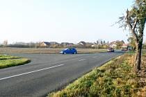 Od této křižovatky na Křečkov bude silnice uzavřena