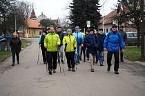 Na Nový rok se prošla více než stovka turistů okolím Opolan.