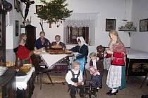 Do přerovského skanzenu zavítaly o vánočních svátcích stovky lidí.
