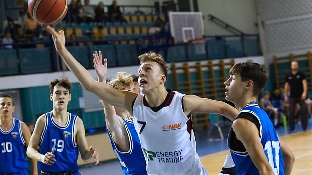 Ze zápasů nymburských basketbalových týmů mládeže