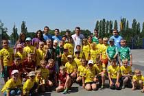 FOTBALOVÝ KEMP v Přerově nad Labem se vydařil. Malí fotbalisté byli spokojení