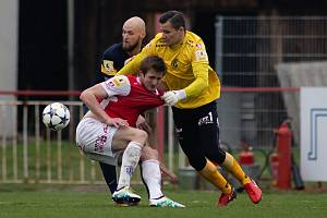 Fotbalový brankář Milan Knobloch