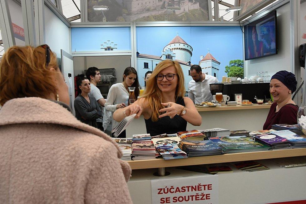 Středočeský kraj se od čtvrtka do neděle prezentoval na veletrhu cestovního ruchu na Výstavišti v Pražských Holešovicích.