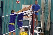 SEMIFINÁLE STARTUJE. Nymburští volejbalisté se poperou o postup do finále první ligy s celkem Českých Budějovic. A rozhodně nejsou bez šance