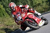 LUBOŠ JELÍNEK z Poděbrad pojede na svém stroji Honda CBR 600 RR také na hořických závodech