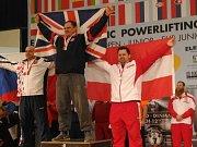 PAVOL DEMČÁK (vlevo) byl na mistrovství Evropy pátý.