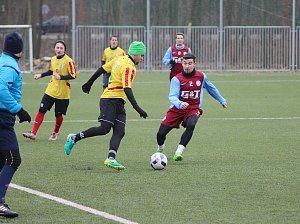 Fotbal - příprava: Bohemia Poděbrady - Rejšice (1:0)