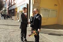 Předseda PSP ČR Jan Hamáček navštívil Nymburk