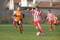 Z fotbalového utkání I.B třídy Libice - Lysá (2:3)