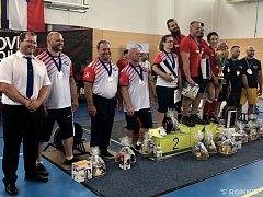 STŘÍBRO. Siloví trojbojaři Sokola Nymburk skončili na mistrovství republiky družstev na druhé pozici.