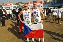 V daleké Pule absolvovali Pavel Novotný a Miloslav Kozák další ze svých běhů.