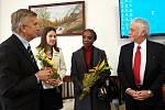 Z návštěvy lucemburského velvyslance v Poděbradech.