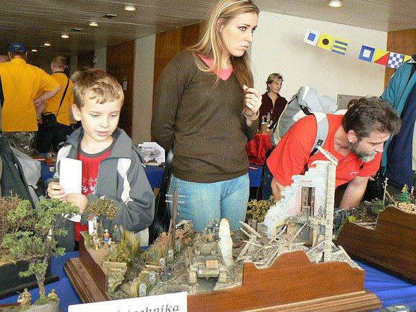 V Obecním domě v Nymburce se konala modelářská výstava