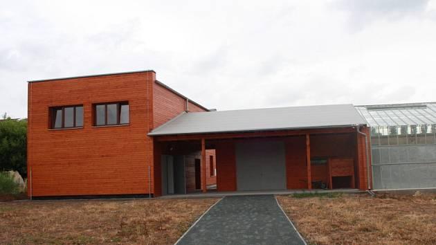 Nově vznikající ekologická zahrada ve Střední zemědělské škole a Střední odborné škole v Poděbradech.