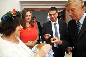 Z návštěvy bulharského velvyslance v Poděbradech.
