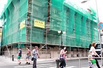 Poděbradská radnice bude mít novou fasádu