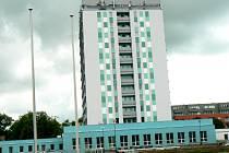 Zateplená budova nymburské Střední odborné školy a Středního odborného učiliště v ulici V Kolonii
