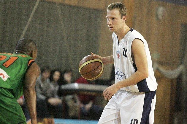 Z basketbalového utkání Mattoni NBL Poděbrady - Liberec (97:72)