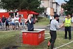 Krajská soutěž hasičů v požárním sportu v Nymburce