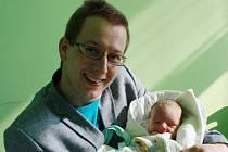 MATYÁŠ JE PRVNÍ V RODINĚ. Matyáš Hejhal se narodil 28. září 2014 ve 12.27 hodin mamince Pavlíně a tátovi Zdeňkovi z Vrbové Lhoty. Je jejich prvním miminkem. Kluk po porodu vážil 3 400 g a měřil 51 cm.