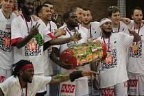 Basketbalisté Nymburka získali čtrnáctý titul mistra republiky v řadě.