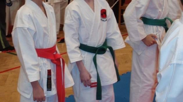 Oddíl Karate – Do Sokol Nymburk vyslal do Mladé Boleslavi trojici závodníků
