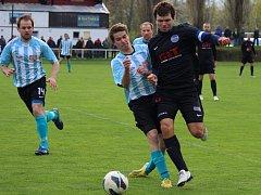 Fotbalisté Libice nad Cidlinou vyhráli okresní derby na půdě poděbradské Bohemie.