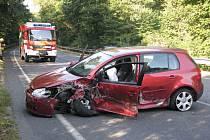 K vážné nehodě došlo ve středu ráno u Poděbrad