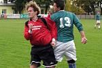 Z utkání I.B třídy Polaban Nymburk B - Červené Pečky (0:0).